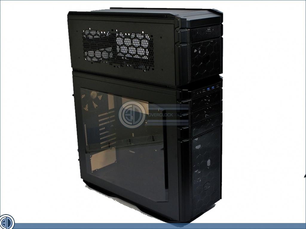 Cooler Master HAF Stacker System Review | Up Close: HAF Stacker 935 assembled | Cases & Cooling ...
