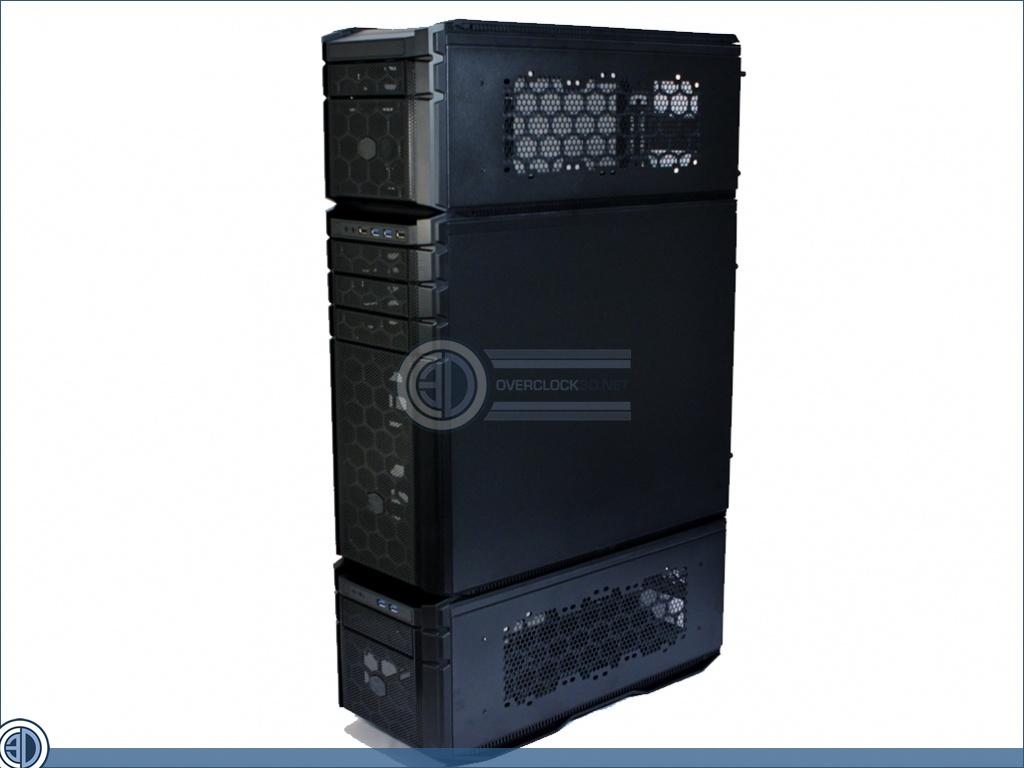 Cooler Master HAF Stacker System Review | Up Close: HAF Stacker 945 assembled | Cases & Cooling ...