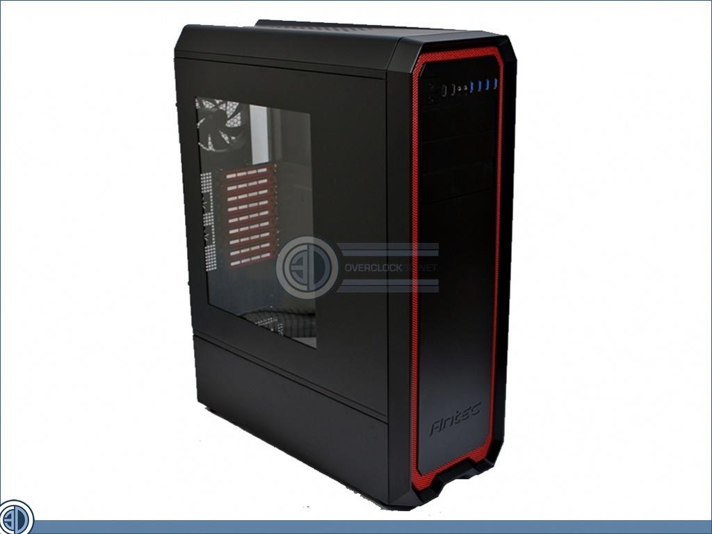 Antec 1900 Gaming Case Review Up Close Exterior