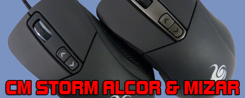 CM Storm Alcor and Mizar Mice Review