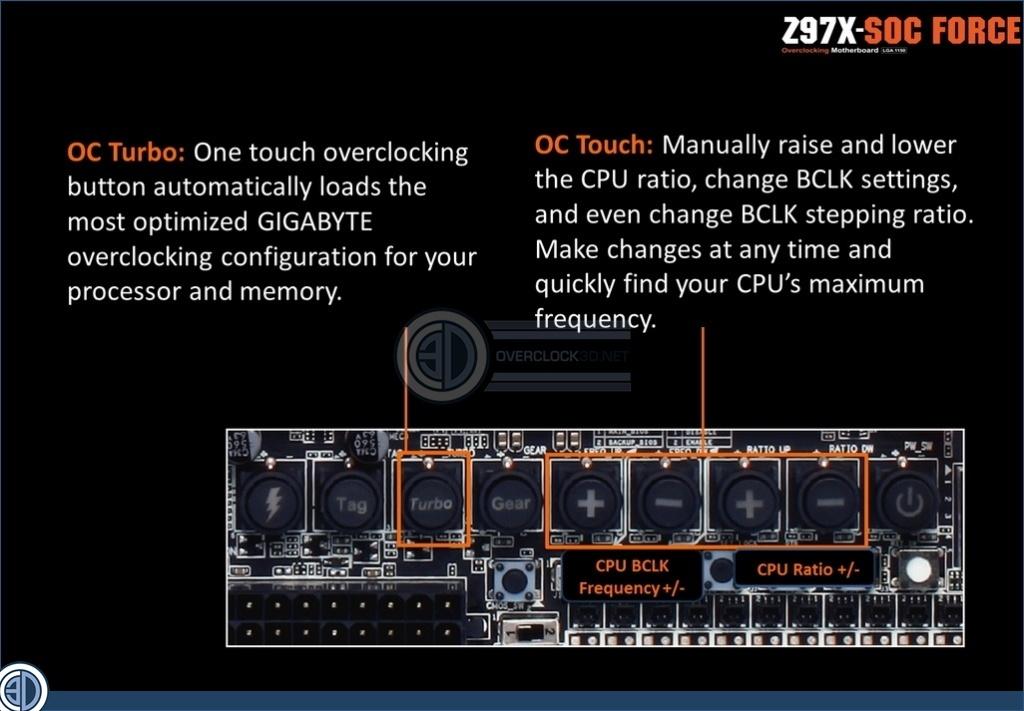 how to overclock cpu gigabyte z97