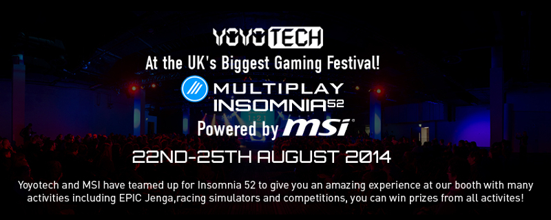 Insomnia 52 Powered by MSI