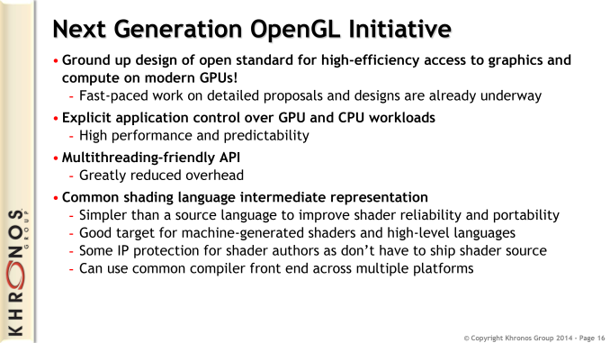 AMD puts a little Mantle in OpenGL Next