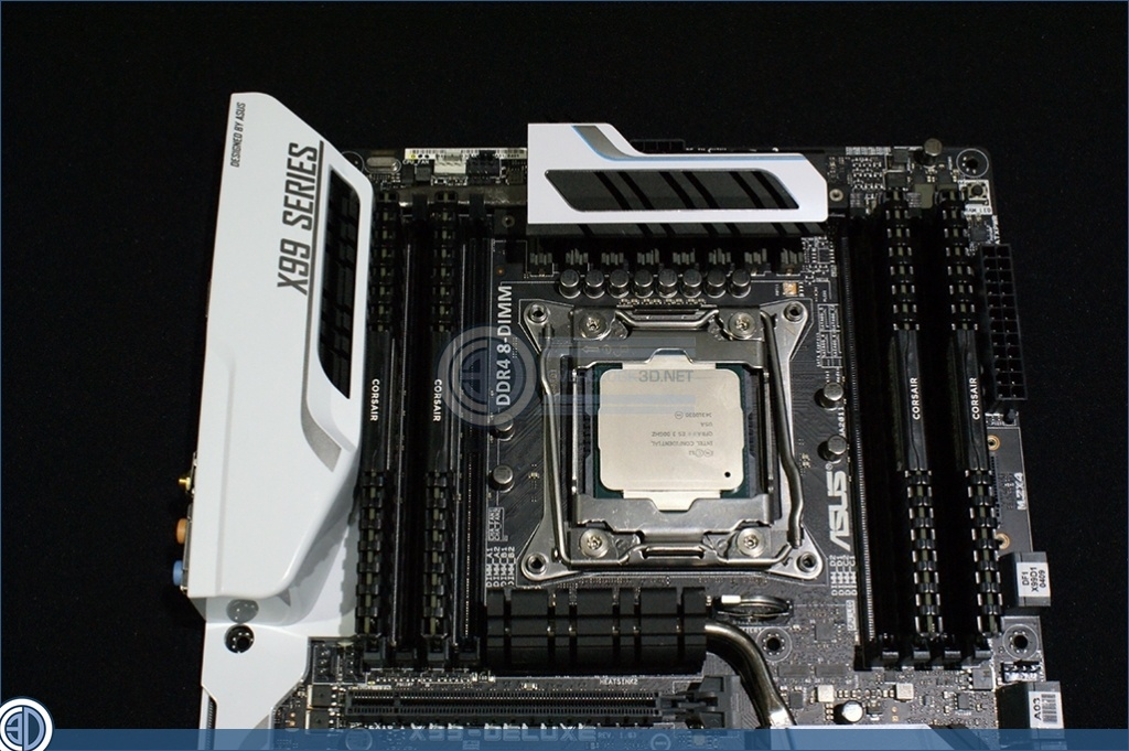 Intel i7 5960X Review with ASUS X99 Deluxe | ASUS X99 Deluxe Up
