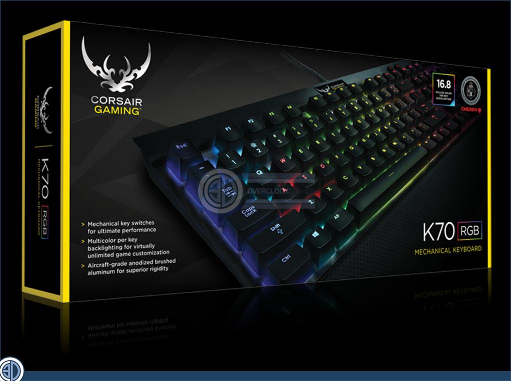 Corsair Gaming K70 Rgb Cherry Switch Keyboard Review