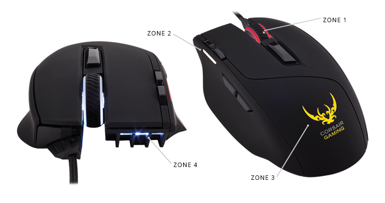 Corsair Introduces Sable RGB Gaming Mice