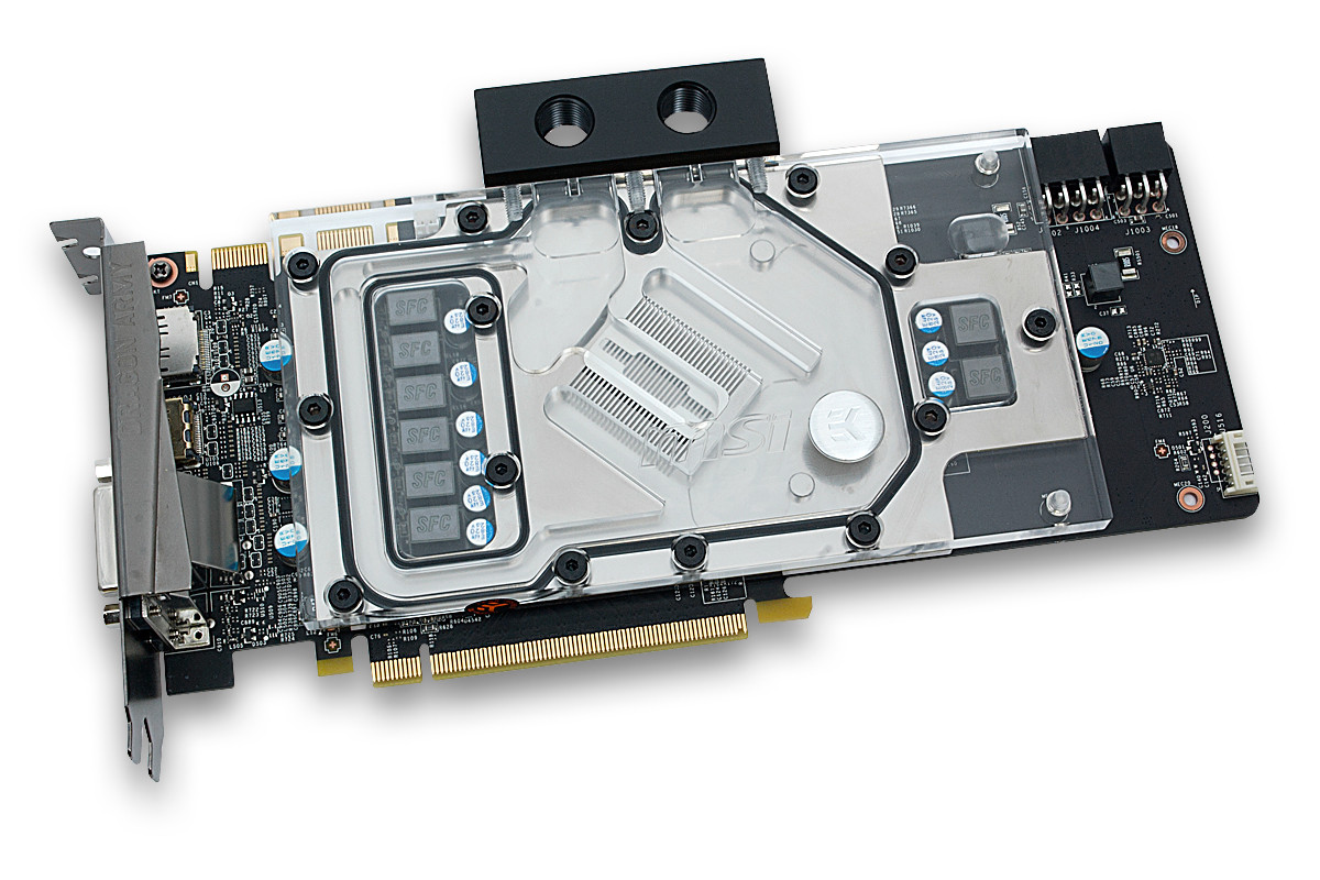 EK Releases MSI GTX 970 Gaming Water Block