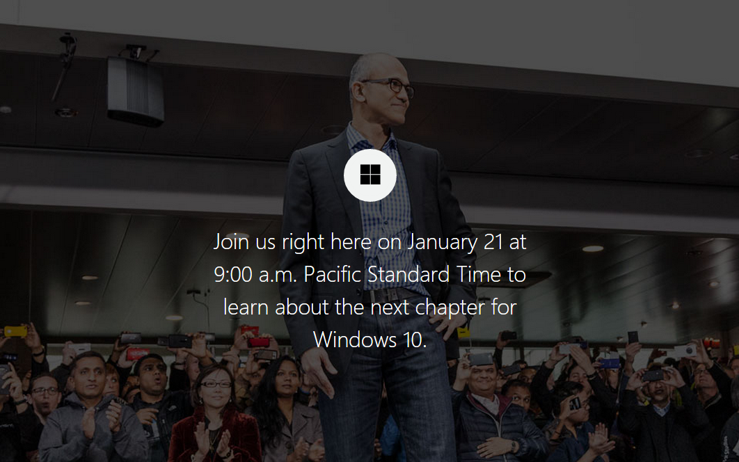 Microsoft Announces Windows 10 Livestream