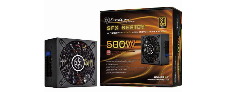 SilverStone Announces SX500-LG Power Supply