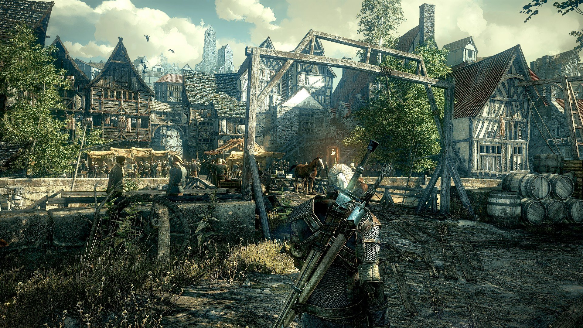 Witcher 3 Console Resolution and Framerate revealed