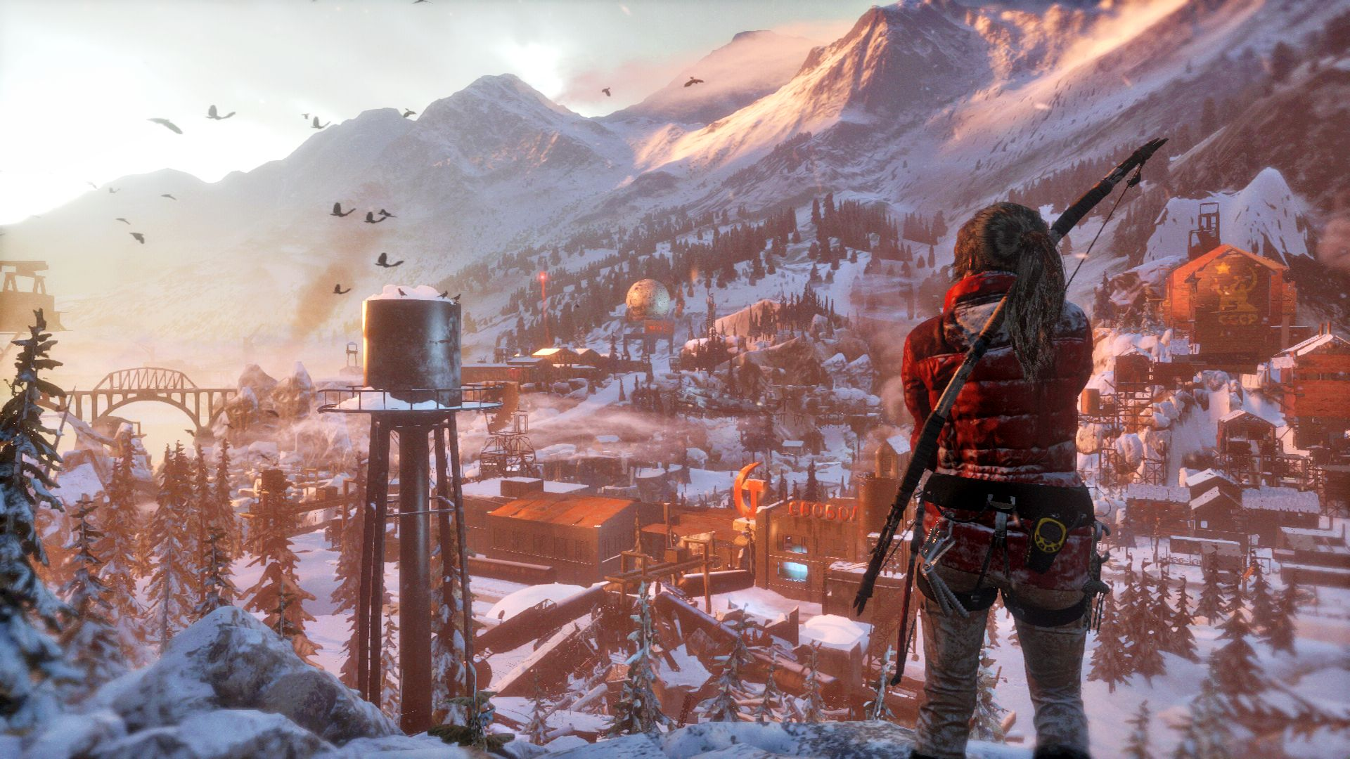 New High-Res Rise of the Tomb Raider Screenshots Published