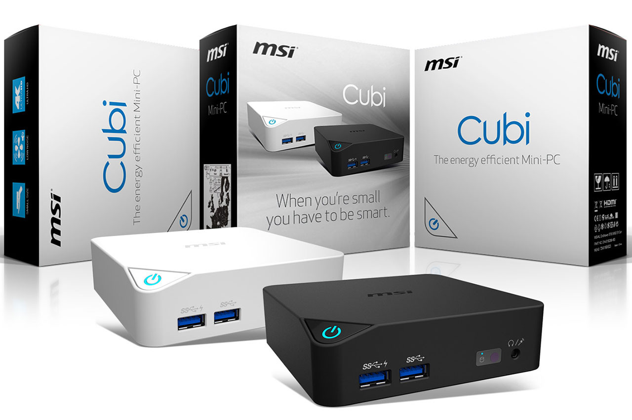 MSI launches their new Cubi mini-PC