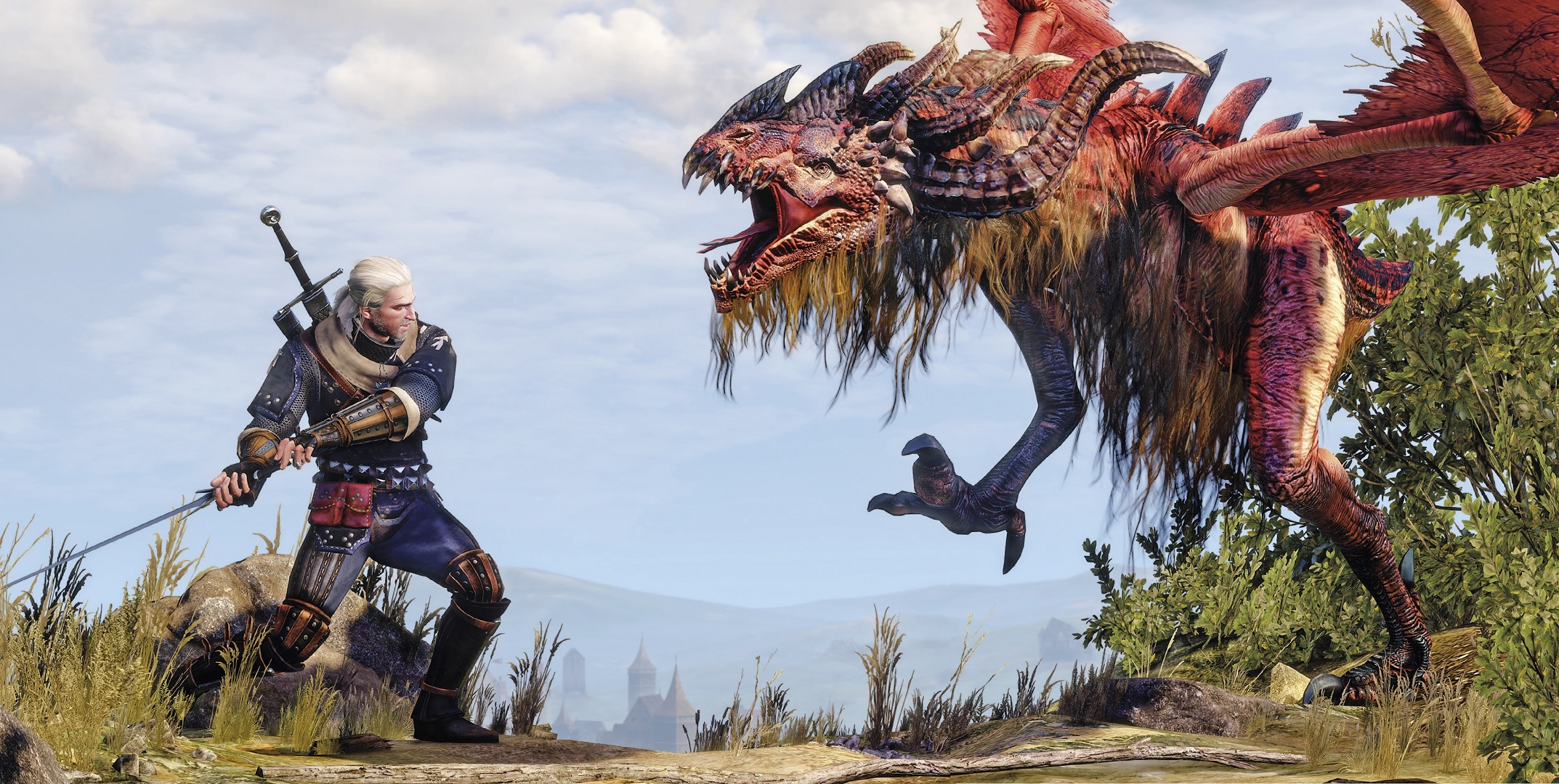 New PC Screenshots for the Witcher 3 PC