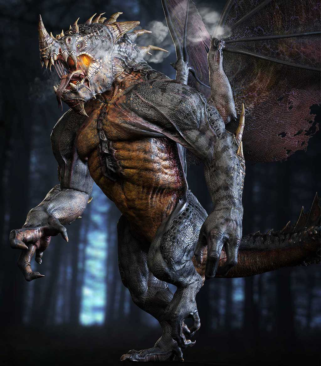 Unreal Engine 4 Ragnosaur Tech Demo Released
