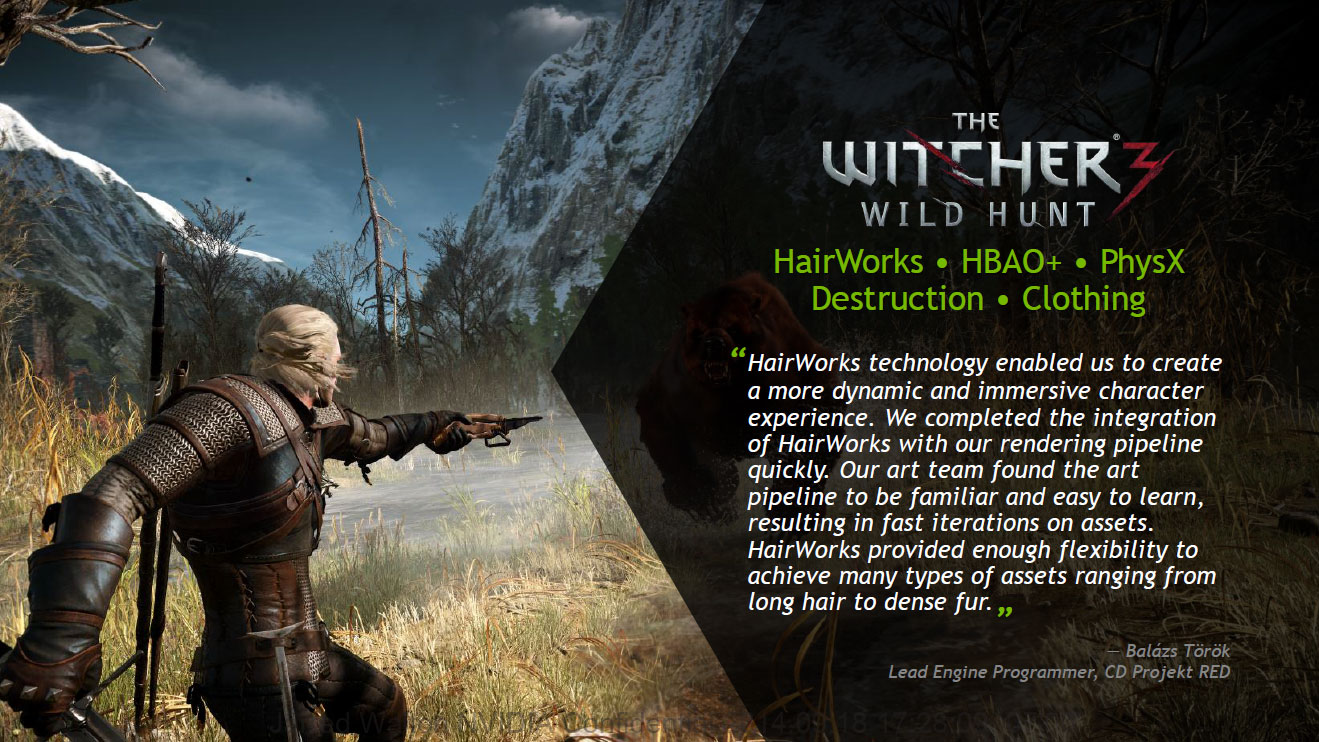 Nvidia Witcher 3 Ready Driver Released