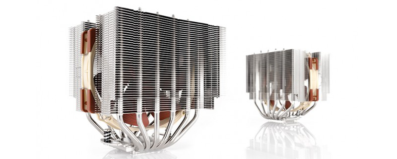 Noctua presents two asymmetrical 140mm CPU coolers