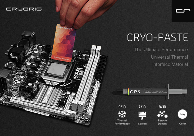 CRYORIG CUSTOMOD Covers and CRYO-Paste