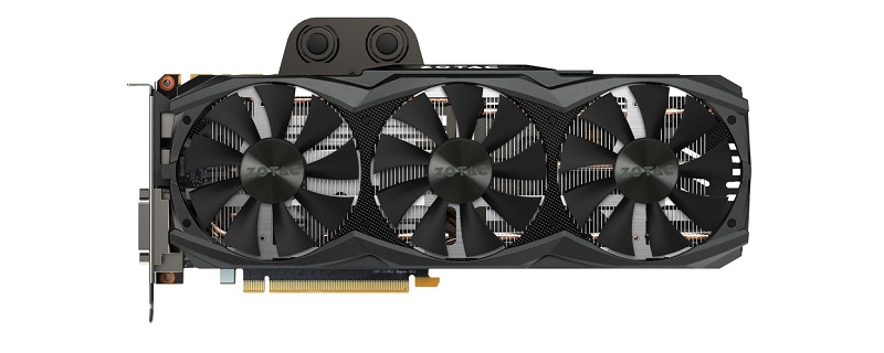 Zotac Announced GTX Titan X with Arctic Storm cooler