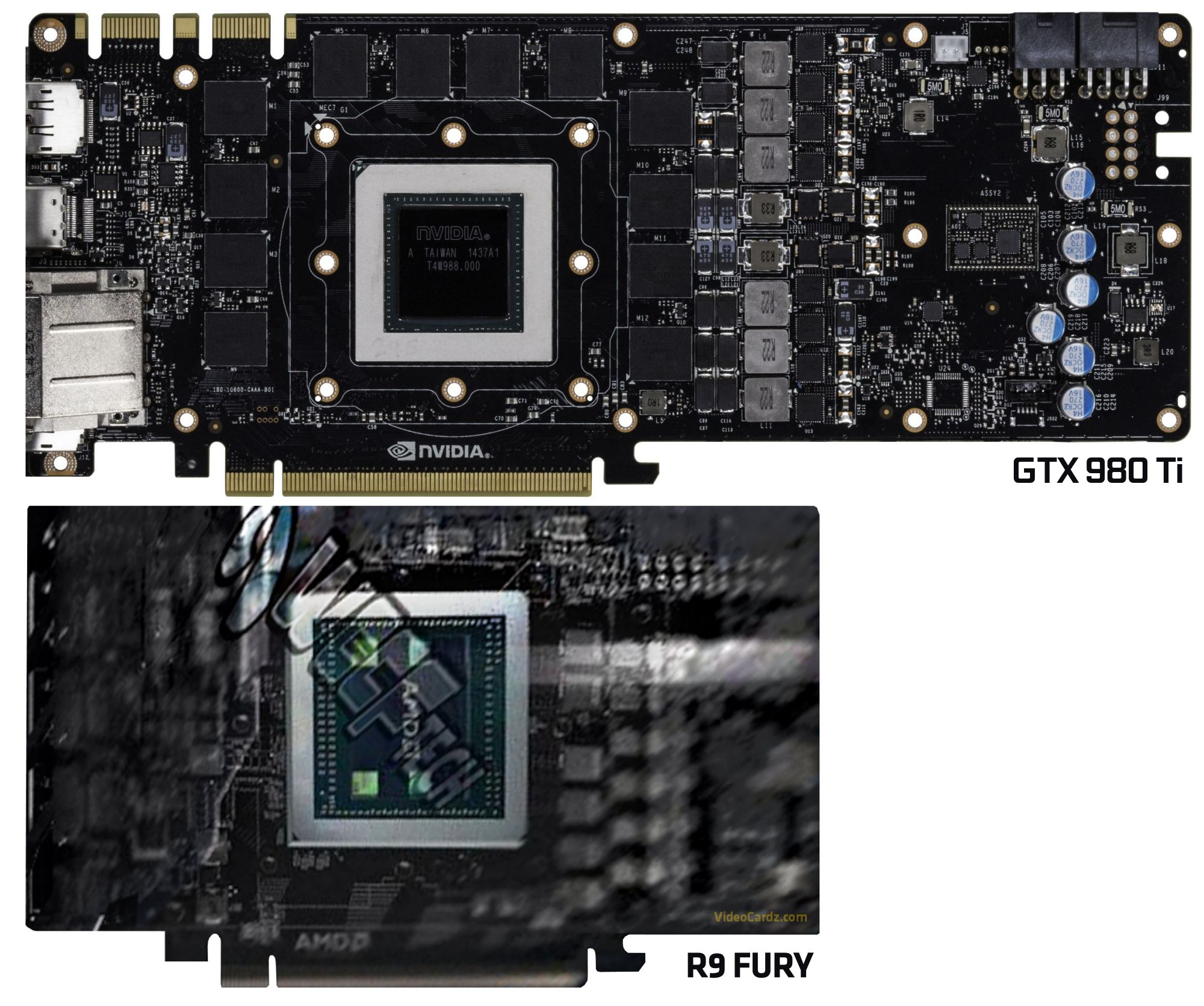 AMD Radeon Fury Renders Leaked, Size Revealed.