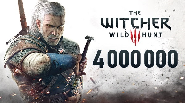The Witcher 3 Has already sold over 4 Million Copies