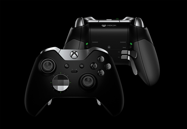 Microsoft's new Xbox Elite wireless controller with swappable parts