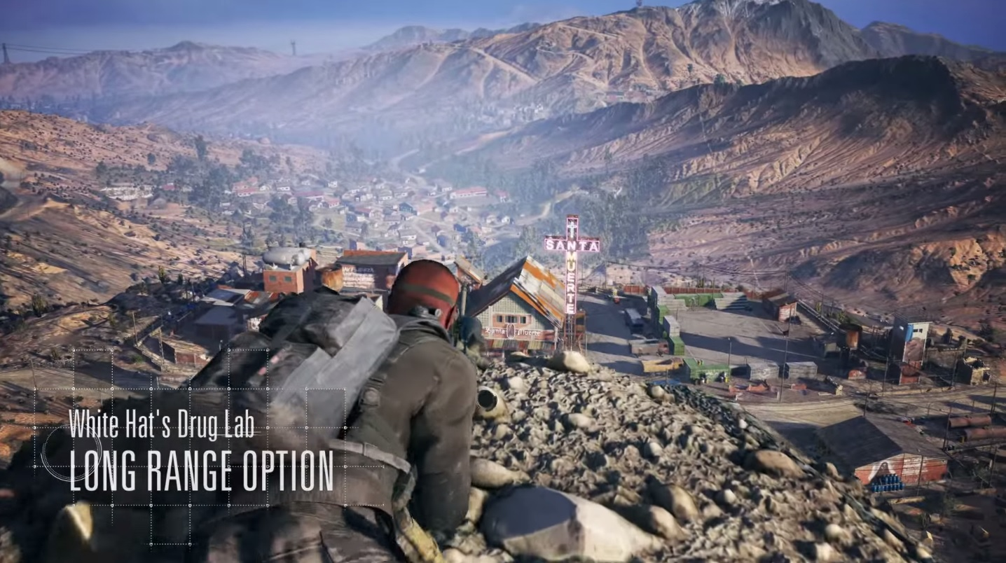 Ghost Recon: Wildlands announced at E3