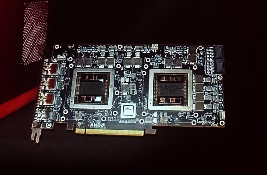 AMD R9 Fury X2 PCB Pictured