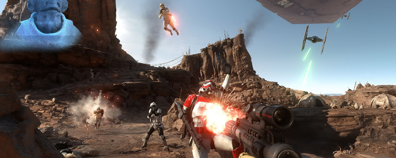 Star Wars Battlefront Closed Alpha Screenshots 4K