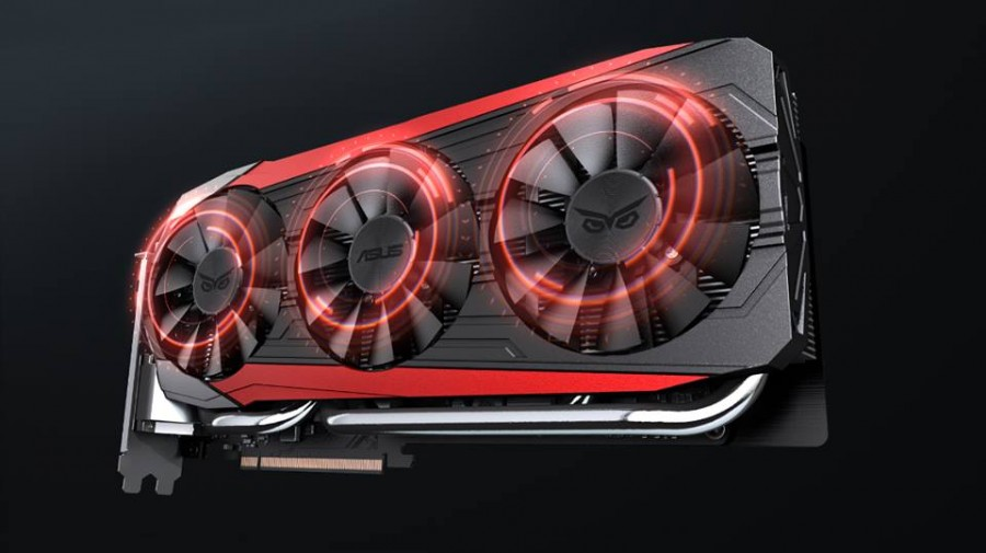 ASUS R9 Fury Strix listed online