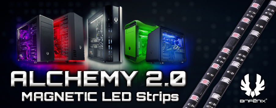 Bitfenix Announces Alchemy 2 0 Led Strips Oc3d News