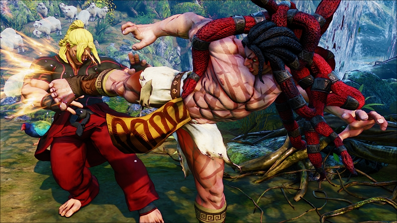Street Fighter 5 trailer introduces a brand new fighter