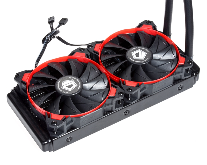 ID Cooling Release CPU and GPU AIO Watercooler