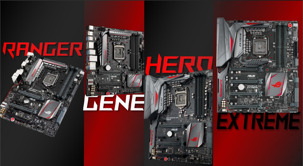 ASUS ROG Z170 Lineup Revealed