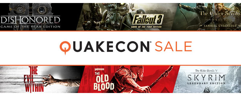 The humble Quakecon Sale is Live