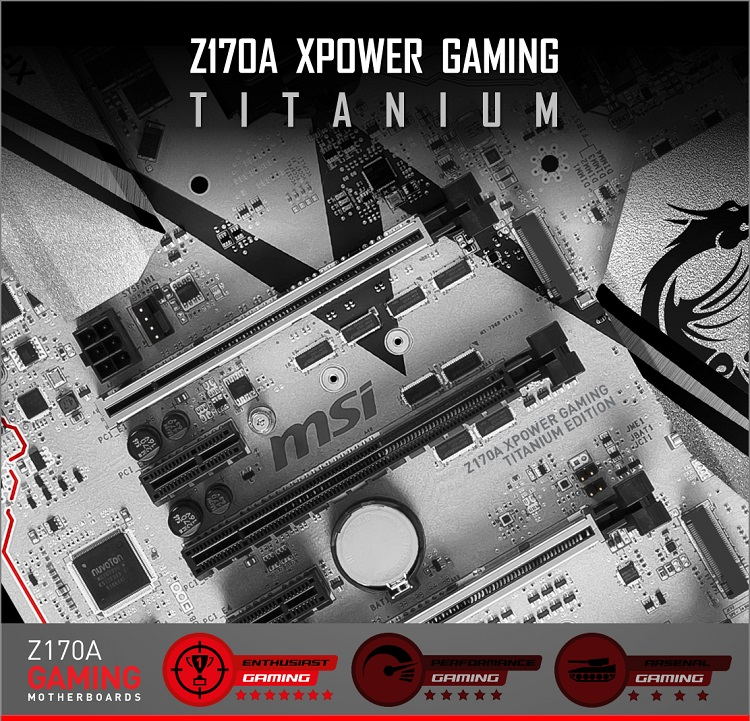 MSI Z170 XPOWER Gaming Titanium Edition