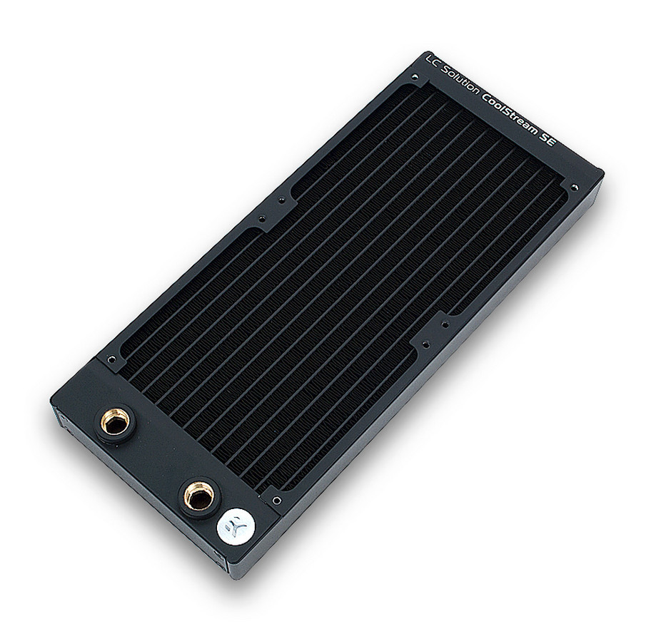 EK Water Blocks Introduces the CoolStream SE 120 mm slim radiator