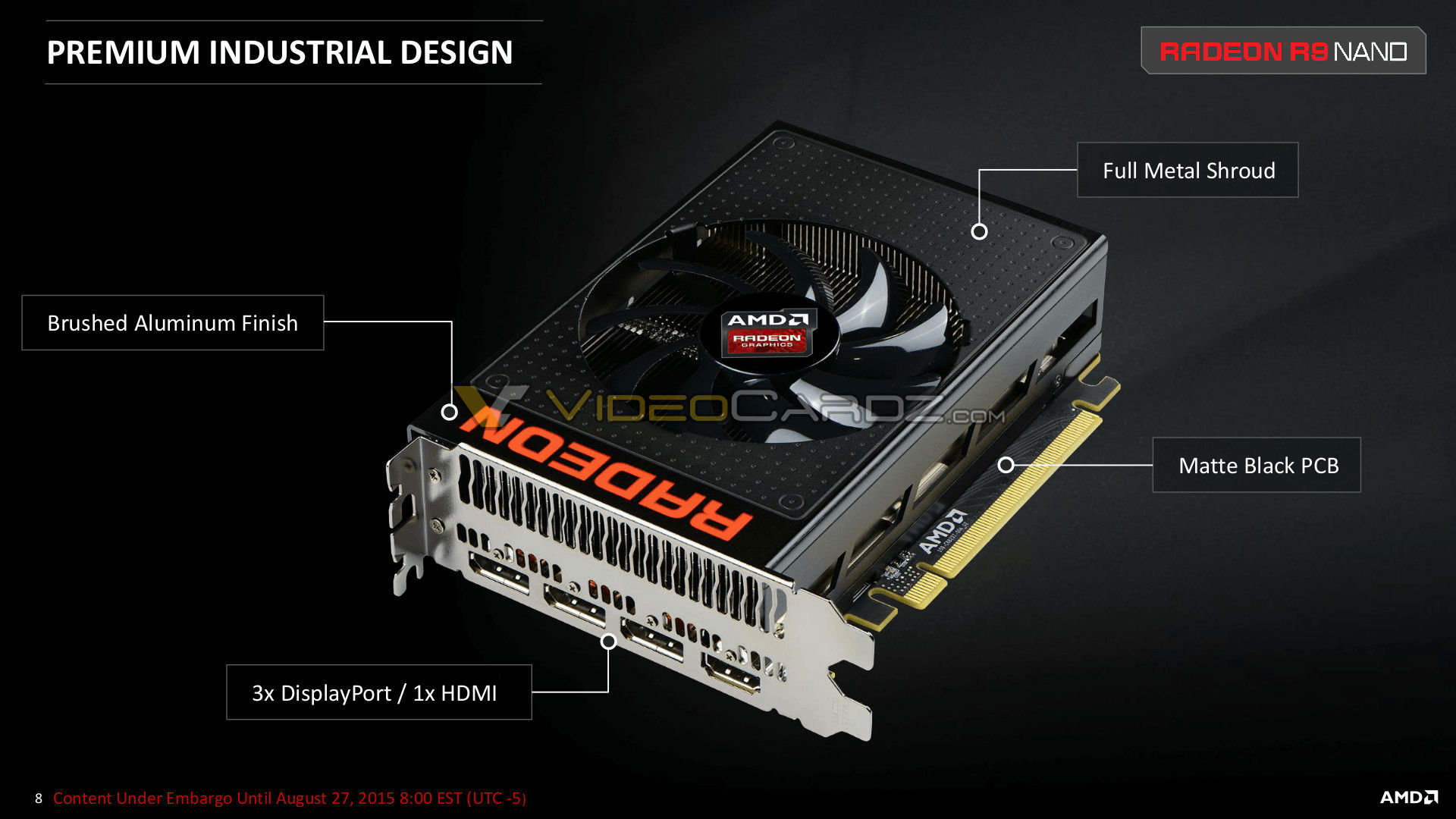 AMD R9 Fury Nano Official Slides leaked