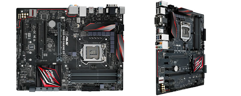 ASUS Announces H170 Pro Gaming and B150 Pro Gaming Motherboards