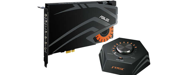 ASUS Announces STRIX Series Sound Cards