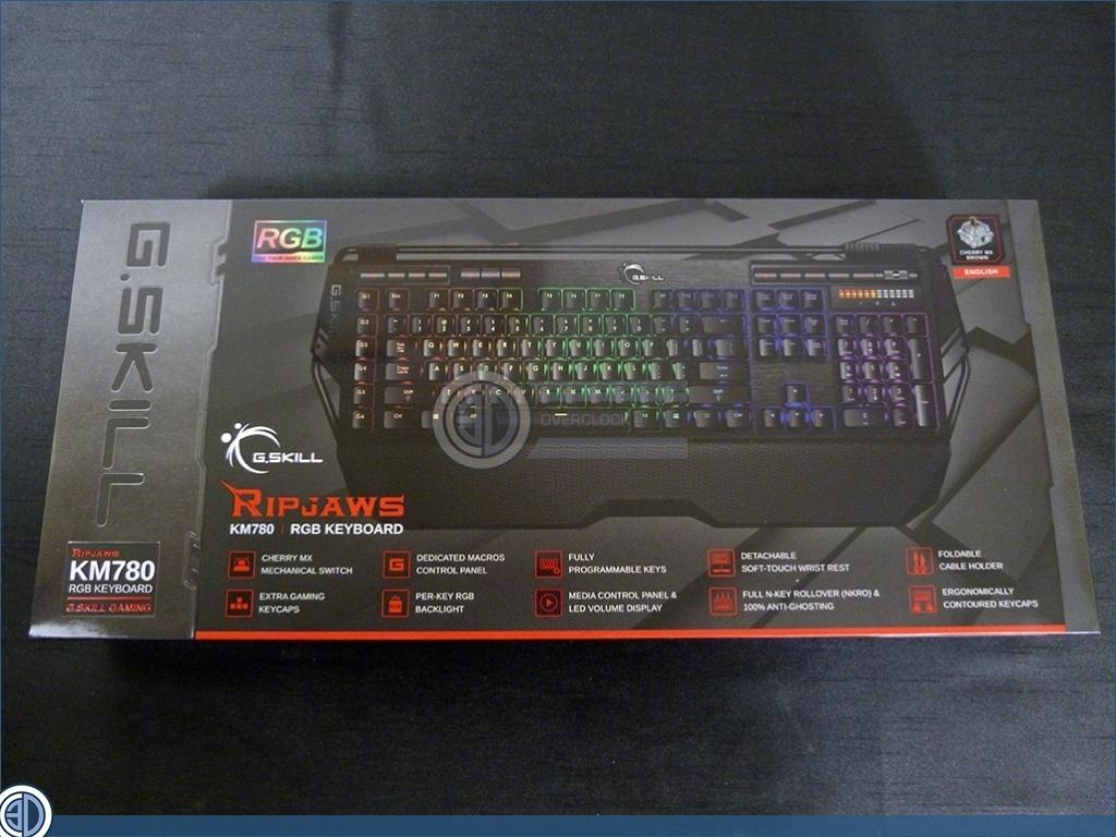 G Skill Ripjaws Gaming Peripherals Review | KM780 Keyboard | Input