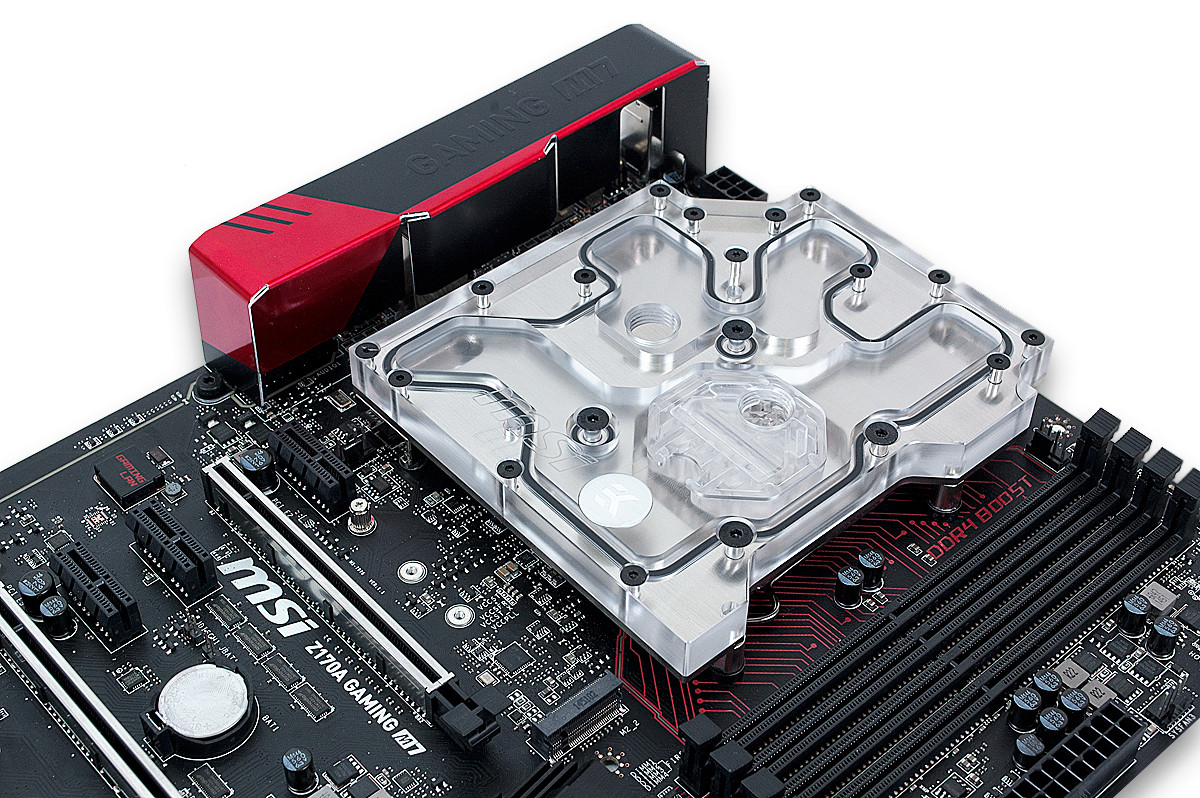 EK Introduces CPU + VRM Monoblock for MSI Z170A Gaming M7 Motherboard