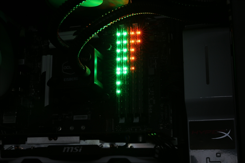 Crucial Ballistix Tactical Tracer Custom LED Memory - RushKit