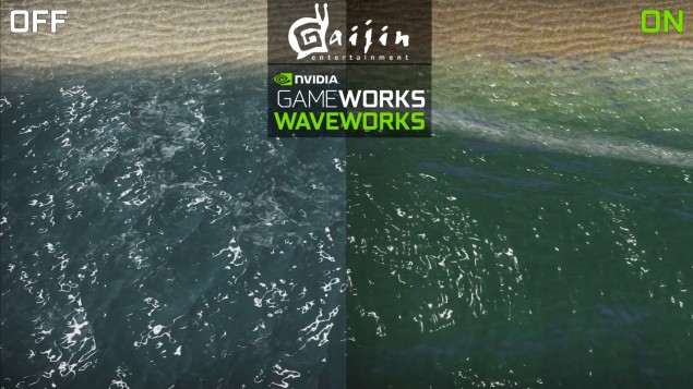Nvidia GameWorks Comes to War Thunder