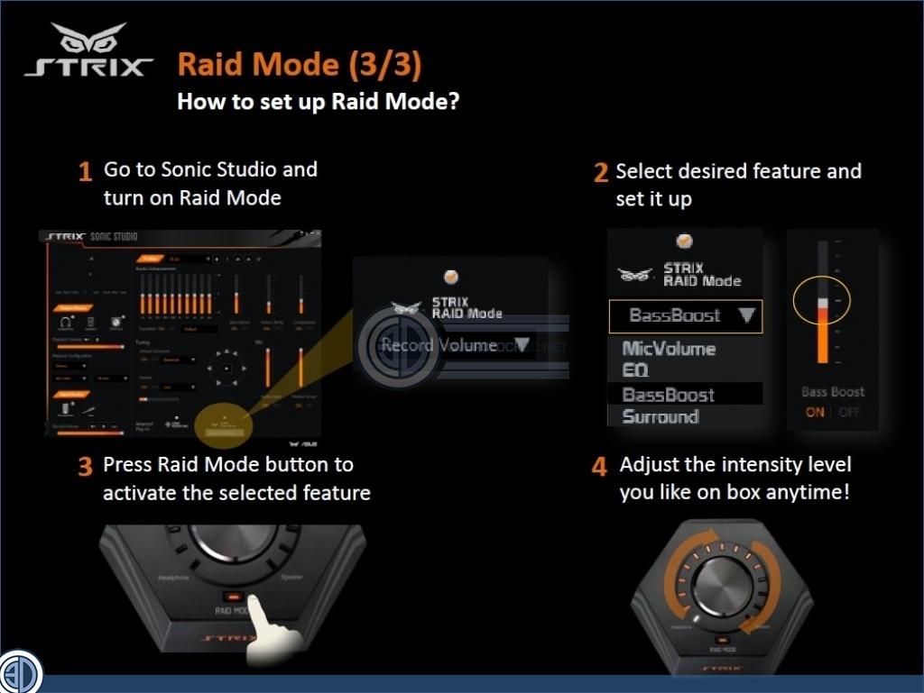 ASUS Strix Soundcard Range Review   Strix Raid Pro   Audio   OC3D Review