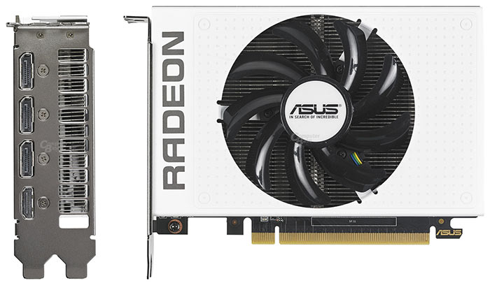 ASUS are making a white R9 Nano GPU