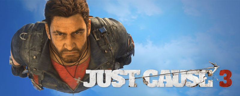 How big is Just Cause 3? Cows catapults?