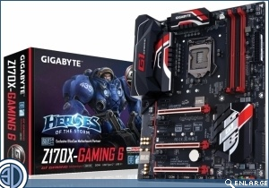 GIGABYTE Unveils the Z170X-Gaming 6 Motherboard