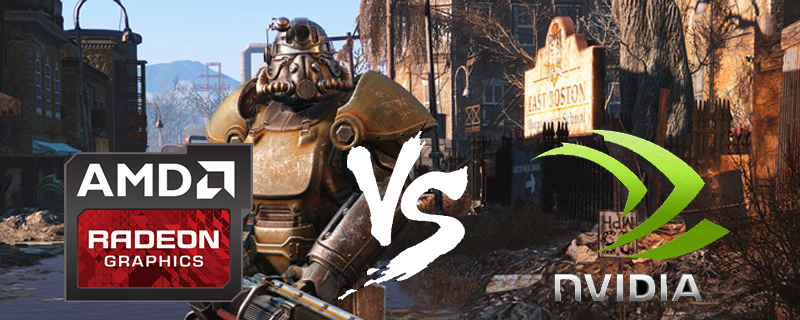 Fallout 4's performance on AMD increases drastically with new Drivers.