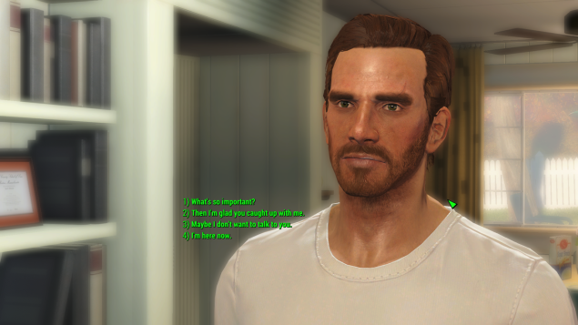 Fallout 4 Full Dialogue Mod makes the conversation system work