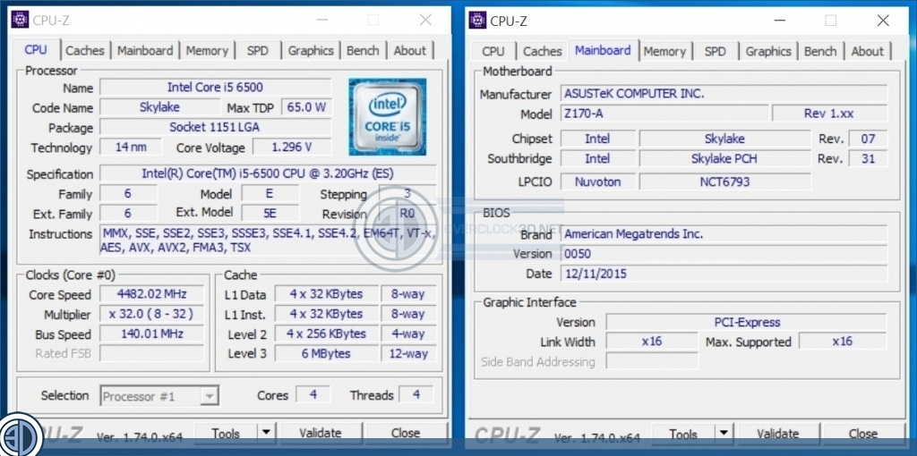 ASUS Skylake Non-K Overclocking BIOS   ASUS Non-K
